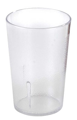Carlisle 5109-207, 9.5 oz PC Stackable Tumbler, Clear
