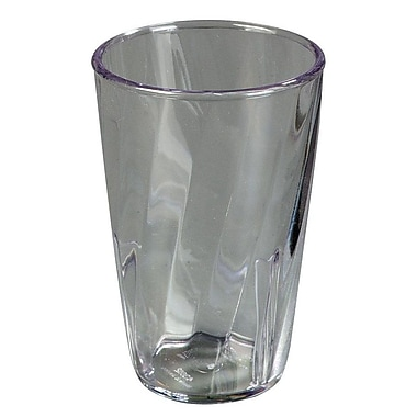 Carlisle 4366307, 8 oz Swirl PC Tumbler, Clear