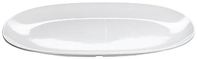 Carlisle 14'' x 10'' Oblong Platter, White