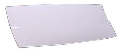 Carlisle 23'' Rave Rectangular Platter, White