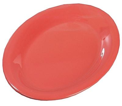 Carlisle Sierrus 12'' x 9.25'' Oval Platter, Sunset Orange
