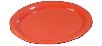Carlisle Sierrus 13.5'' x 10.5'' Oval Platter, Sunset Orange