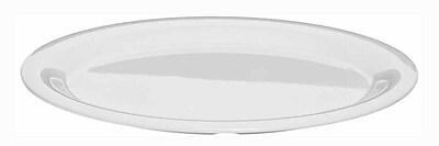 Carlisle Sierrus 13.5'' x 10.5'' Oval Platter, White