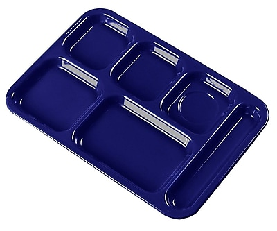 Carlisle 4398850, Right-Hand Heavy Weight Compartment Tray, Dark Blue