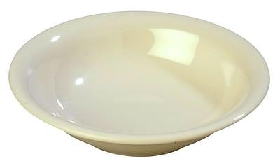 Carlisle Sierrus 16 oz, 7.5'' Rimmed Bowl, Bone