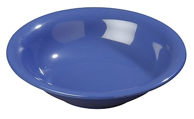 Carlisle Sierrus 16 oz, 7.5'' Rimmed Bowl, Ocean Blue