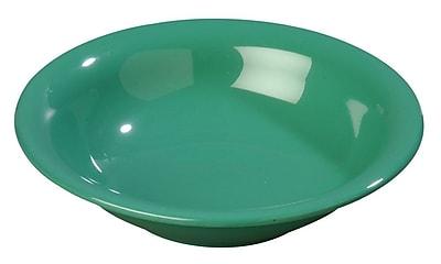 Carlisle Sierrus 16 oz, 7.5'' Rimmed Bowl, Meadow Green