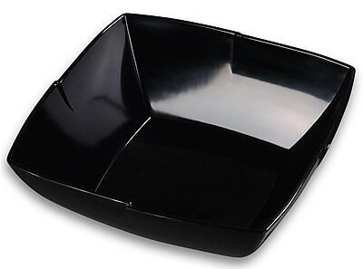 Carlisle 12'' Rave Salad Bowl, Black
