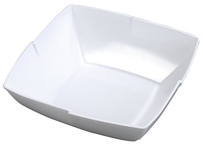 Carlisle 12'' Rave Salad Bowl, White