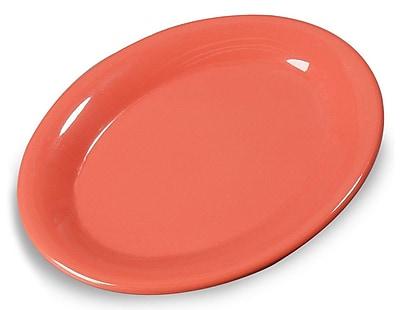 Carlisle 9-1/2'' x 7-1/4'' Sierrus™ Oval Platter, Sunset Orange