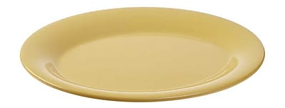 Carlisle 9-1/2'' x 7-1/4'' Sierrus™ Oval Platter, Honey Yellow