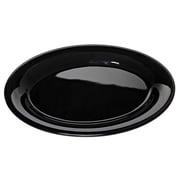 Carlisle 9-1/2'' x 7-1/4'' Sierrus™ Oval Platter, Black