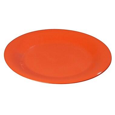Carlisle Sierrus 7.5'' Salad Plate, Sunset Orange