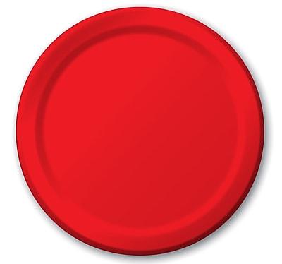 Carlisle Sierrus 7.5'' Salad Plate, Red