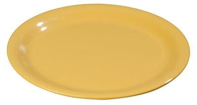 Carlisle Sierrus 6.5'' Pie Plate, Honey Yellow