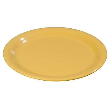 Carlisle Sierrus 7.25'' Salad Plate, Honey Yellow