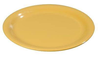 Carlisle Sierrus 7.25'' Salad Plate, Honey Yellow
