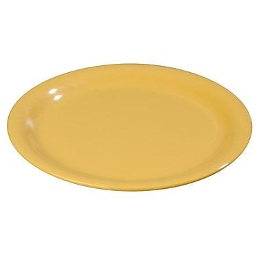 Carlisle Sierrus 9'' Dinner Plate, Honey Yellow
