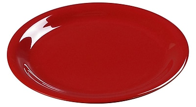Carlisle Sierrus 9'' Dinner Plate, Red