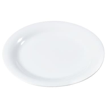 Carlisle Sierrus 9'' Dinner Plate, White