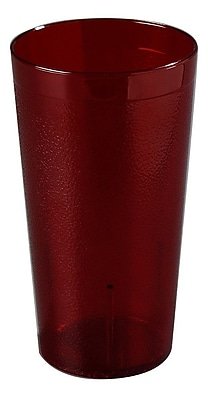 Carlisle 5116-210, 16.5 oz PC Stackable Tumbler, Red
