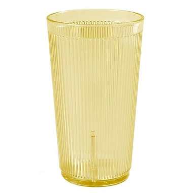 Carlisle 403322, 12 oz Crystalon PC Tumbler, Honey Yellow