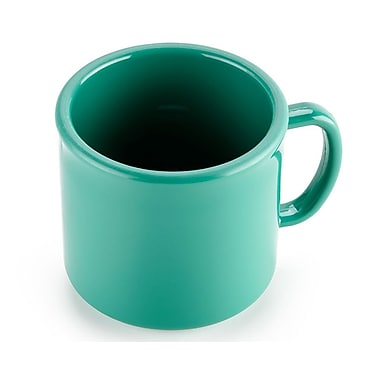 Carlisle 10 oz, 3.25'' PC Stackable Mug, Meadow Green