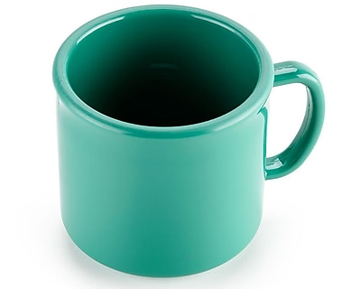 Carlisle 10 oz, 3.25'' PC Stackable Mug, Meadow Green