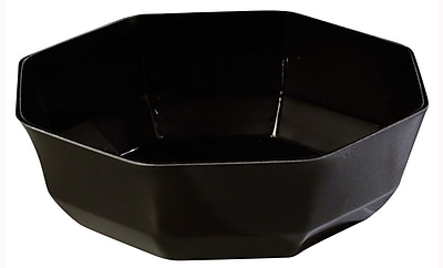 Carlisle 7-1/8'' Octagon Bowl, Black