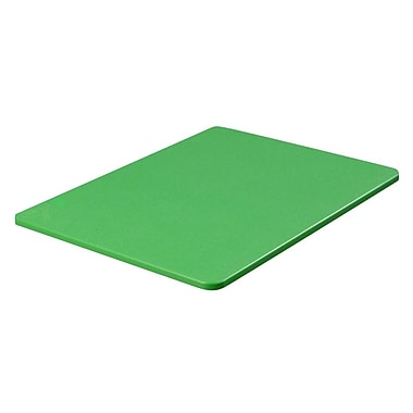 Carlisle 1288209, 12'' x 18'' x .75'' Color Cutting Board, Green