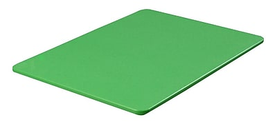 Carlisle 1088509, Color Cutting Board Pack 15'', 20'', 1/2'', Green