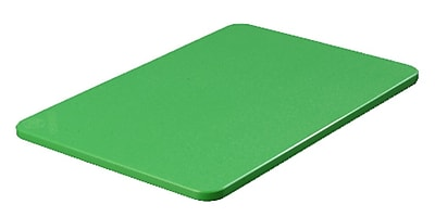 Carlisle 1088209, Color Cutting Board Pack 12'', 18'', 1/2'', Green