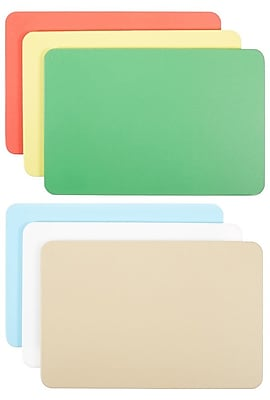 Carlisle 1088000, Spectrum Cutting Board Assortment Pack 12'', 18'', 1/2'', Not Applicable