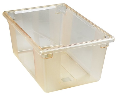 Carlisle 10623C22, 16-6/10 Gal 18'' x 26'' x 12'' Color Coded Food Storage Box, Honey Yellow