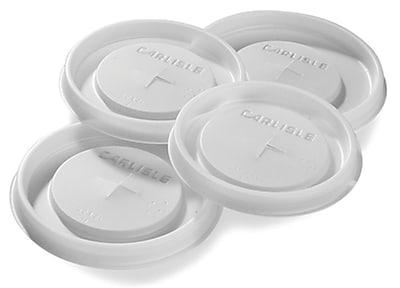 Carlisle 52412L30, Disposable Lid - Fits 12 oz Cambro® Tumbler LT12, See Thru