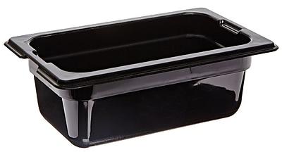 Carlisle 1032003, One-Ninth Size PC Food Pans - 2.5'' (0.7 qt)
