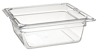 Carlisle 1030007, One-Sixth Size PC Food Pans - 2.5'' (1.1 qt)
