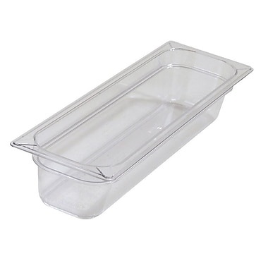 One-Half Long PC Food Pans - 4'' (5.1 qt)