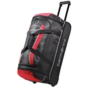 "Samsonite® Andante 28"" Drop Bottom Wheeled Duffle, Black/Red"