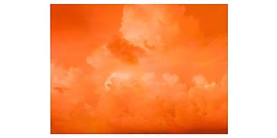 Trademark Fine Art 'Orange Clouds' 14