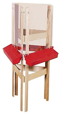 Wood Designs™ Art 3-Way Easel With Acrylic, Birch