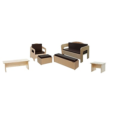 Wood Designs™ 6-Piece Plywood Children Furniture Set