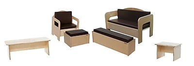 Wood Designs™ 6-Piece Plywood Children Furniture Set