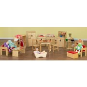 Wood Designs™ 12 Piece Plywood Dramatic Play Package