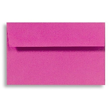 LUX A7 Invitation Envelopes (5 1/4 x 7 1/4) 500/Box, Magenta (EX4880-10-500)