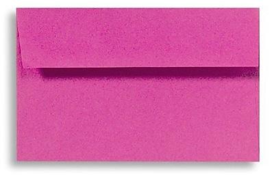 LUX A7 Invitation Envelopes (5 1/4 x 7 1/4) 500/Box, Magenta (EX4880-10-500)