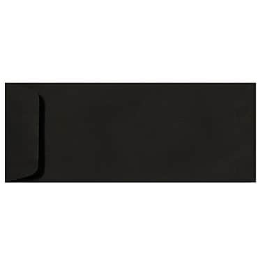 LUX Peel & Press #10 Open End Envelopes (4 1/8 x 9 1/2) 1000/Box, Black Linen (7716-BLI-1000)