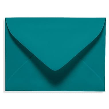 LUX #17 Mini Envelope (2 11/16 x 3 11/16) 1000/Box, Teal (EXLEVC-25-1000)