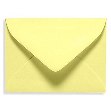 LUX ? Mini enveloppes no 17 (2 11/16 x 3 11/16 po), limonade, 500/boîte (EXLEVC-15-500)