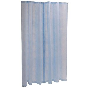 Medline® Disposable Cubicle Curtain Panel, Light Blue, 60